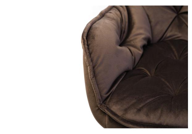 Стул M-65 коричневый вельвет - Фото №2