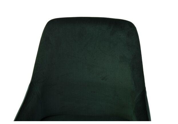 Стул N-49 изумрудный вельвет/черный - Фото №2