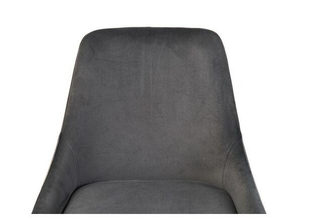 Стул N-49 серый вельвет - Фото №2