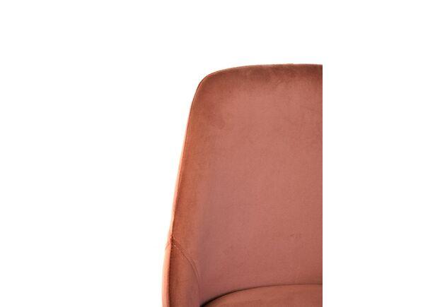 Стул N-49 пурпурный вельвет/черный - Фото №2
